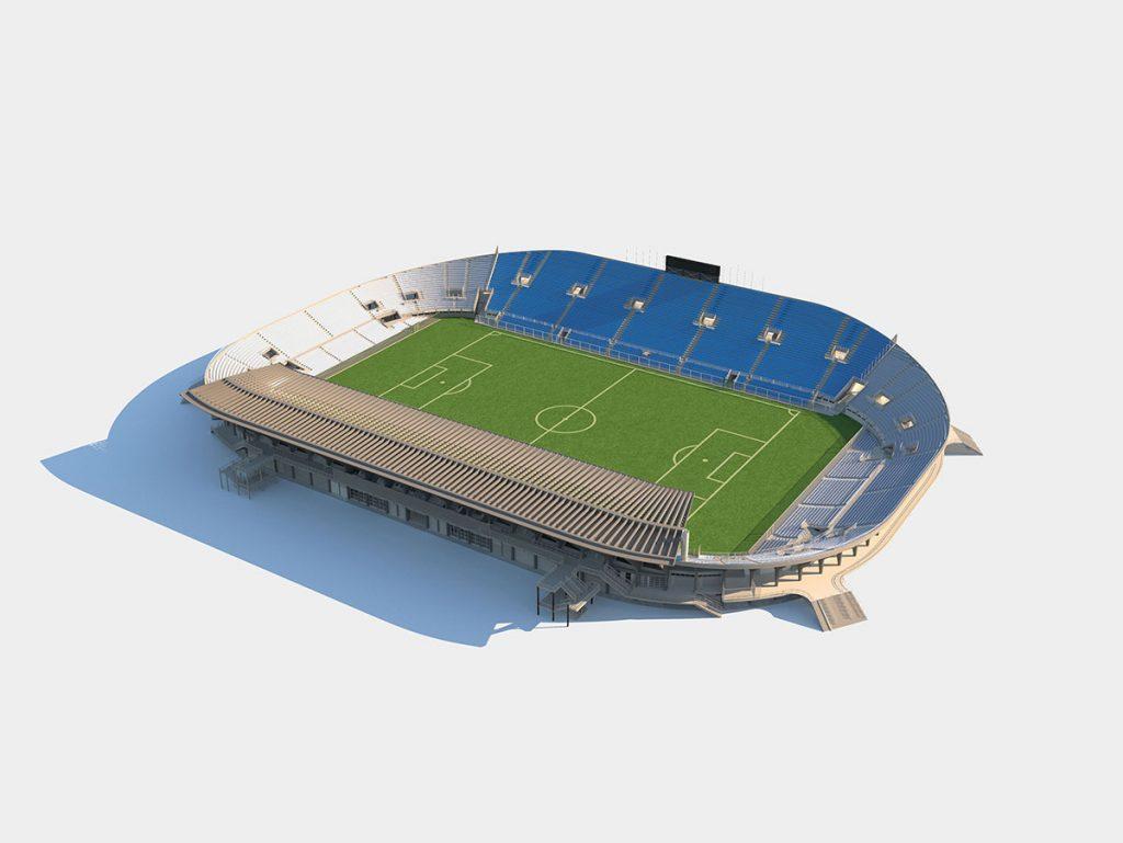 Stadio Flaminio - Piano di conservazione e progetto di recupero - React Studio srl