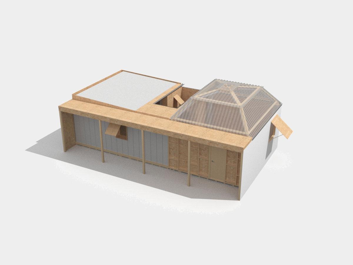 Carthome, abitazione ecosostenibile - React Studio