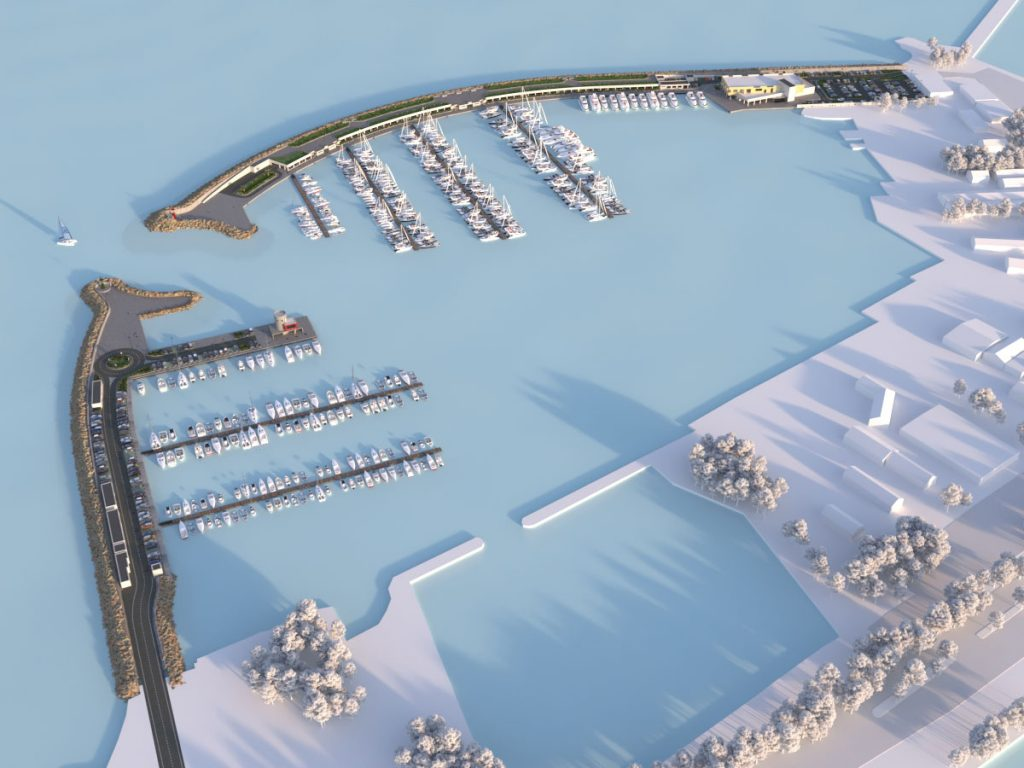 Marina di Gaeta - Progettazione Nuovo Porto Turistico - React Studio srl